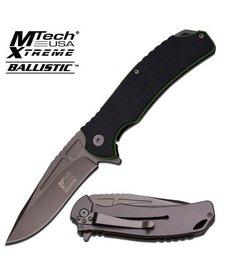 Black & Green Xtreme Ballistic MTMXA834BGP