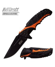 Black & Orange Ballistic MTA957BO