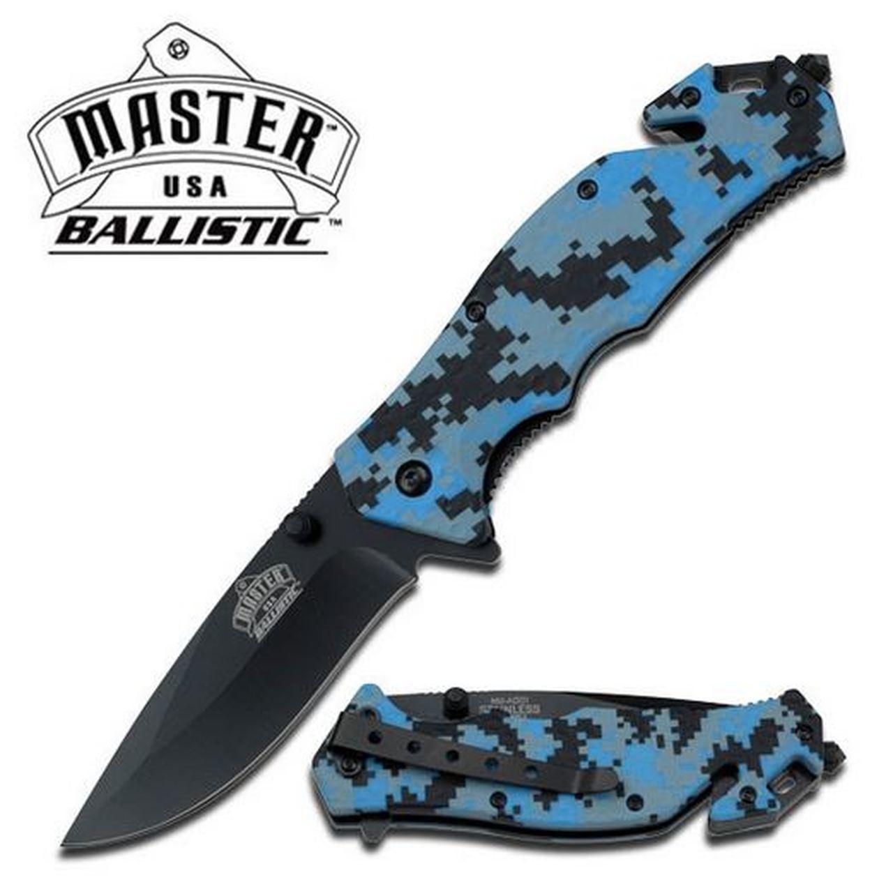 Master Cutlery Blue Digi MCMUA001DB