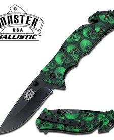 Green Skulls MCMUA001GNSC