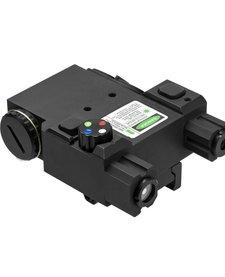 4 Color Nav LED Green Laser with QR Mount