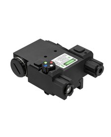 4 Color Nav LED Green Laser with QR Mount