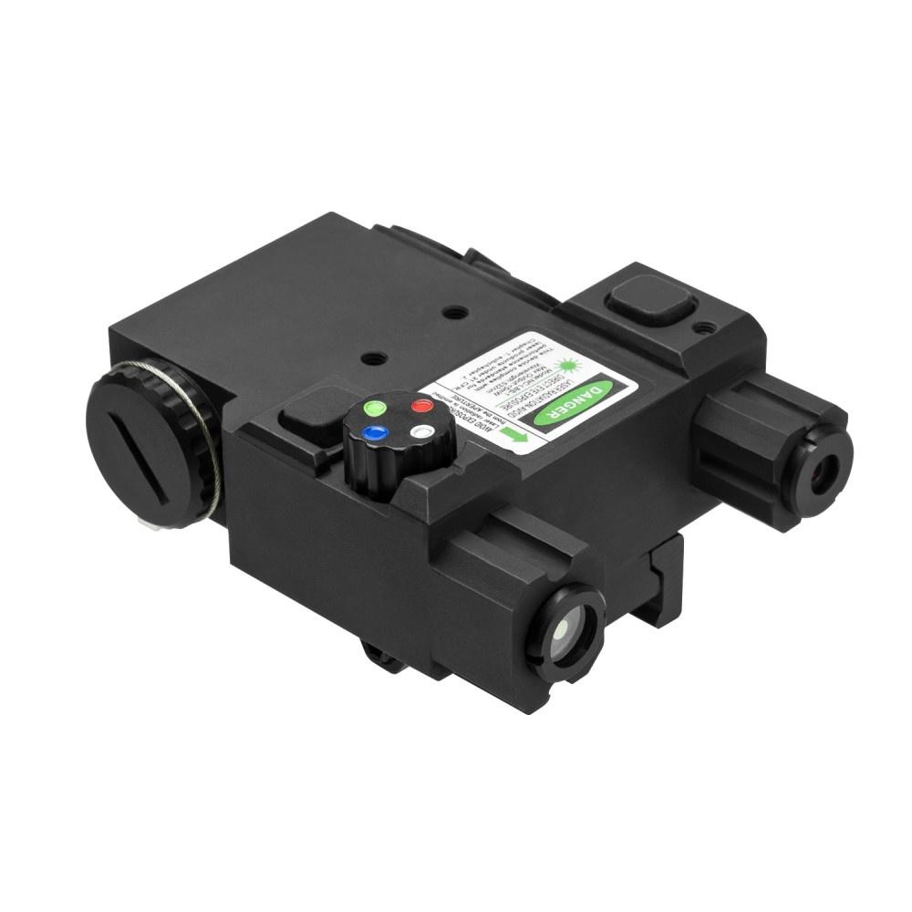 NcSTAR 4 Color Nav LED Green Laser with QR Mount