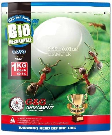 G&G Armament Bio BB .28g 1Kg 3600cnt