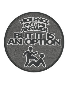 Violence Isn't the Answer Morale Patch