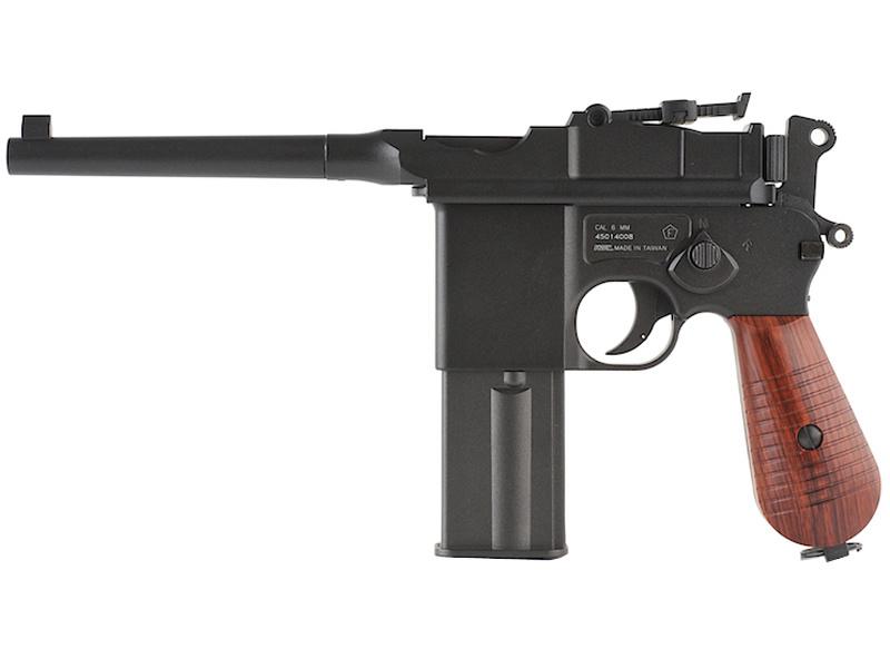 KWC M712 Mauser Broomhandle Metal