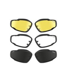 Advanced V12 replacement lenses (clear)