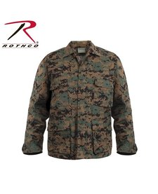 Army Combat Uniform Shirt Woodland Digital