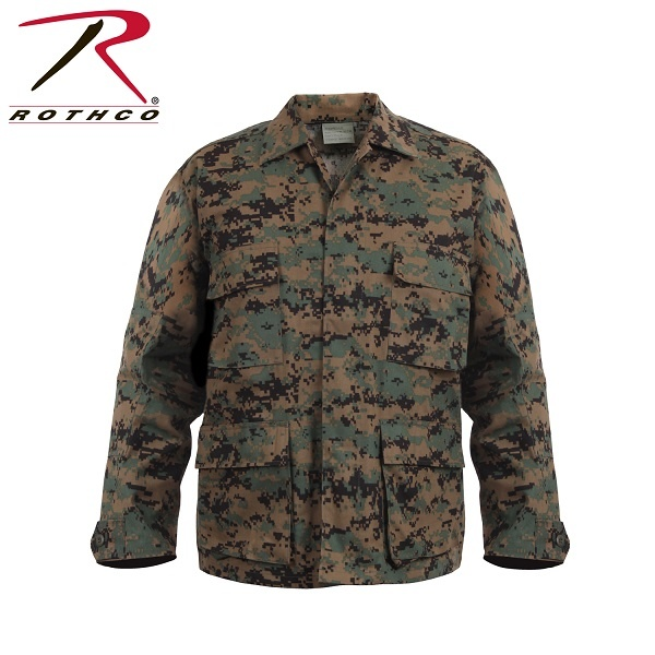 Rothco Army Combat Uniform Shirt Woodland Digital