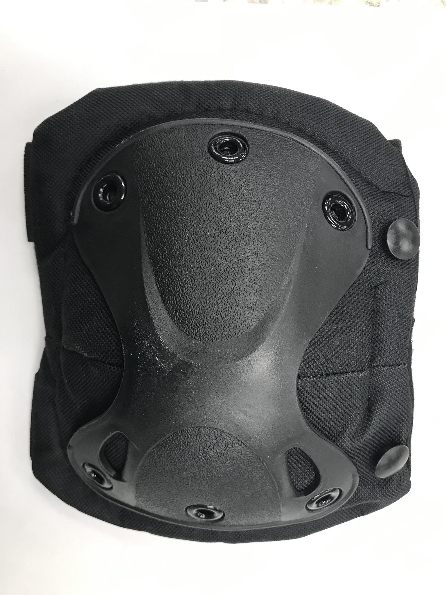 Krousis Tactical Knee & Elbow Pad Set Black