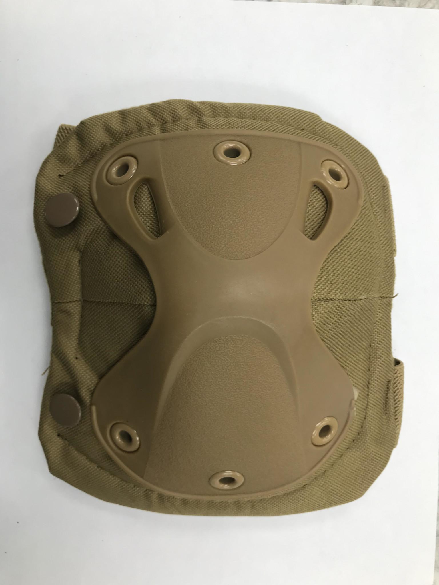 Krousis Tactical Knee & Elbow Pad Set Dark Earth