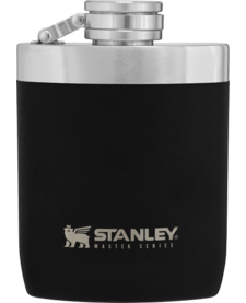 8OZ Master Flask Foundry Black