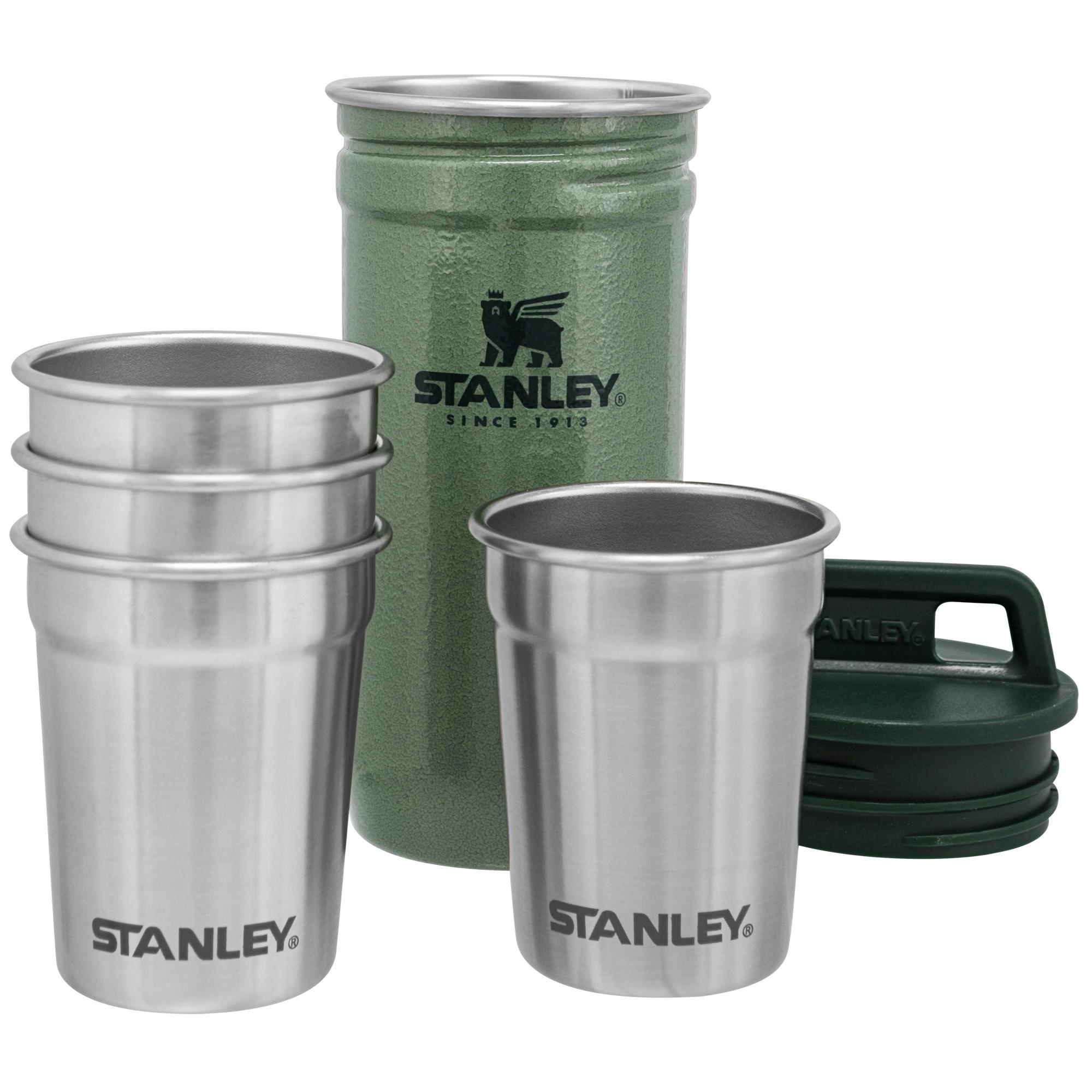 Stanley Advanced Nest Shot Glass Hammertone Green