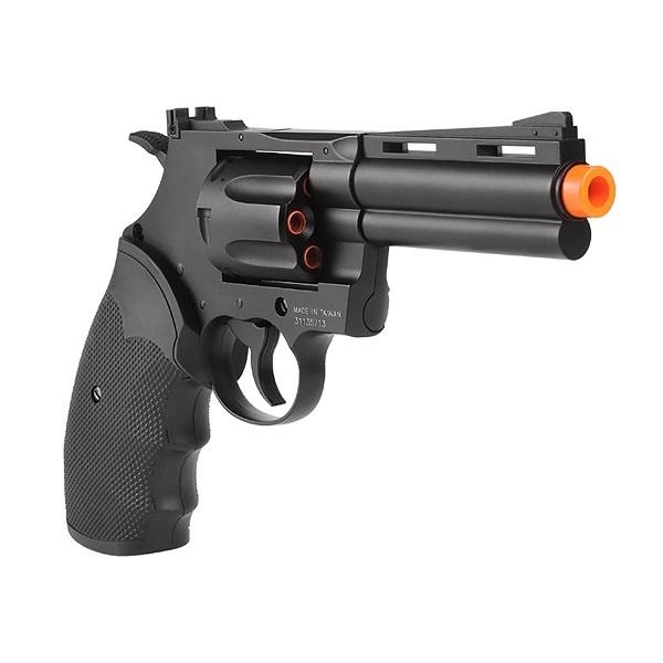 """Cybergun Colt Licensed Python .357 Magnum Airsoft Revolver 4"""""""