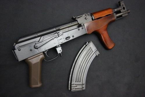 E&L AK A112 AIMR Full Metal Real Wood Platinum AEG