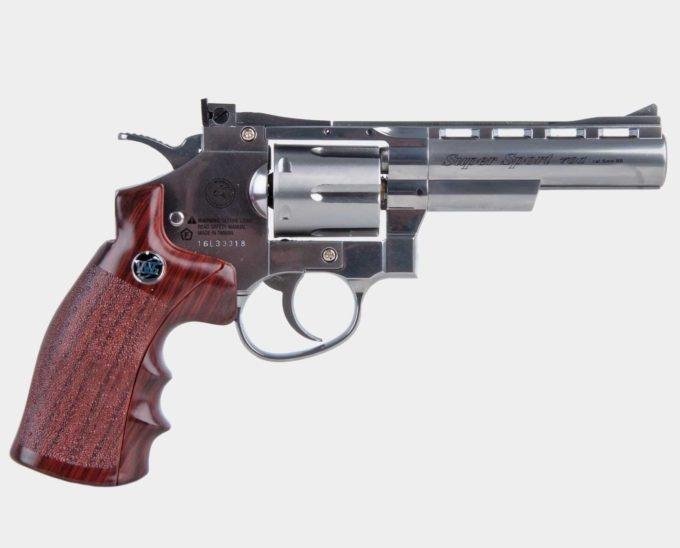 "Wingun Super Sport Revolver 4"" SV"