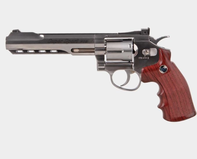 "Wingun Super Sport Revolver 6"" SV"