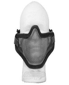 Carbon Steel Half Mask - Double Black