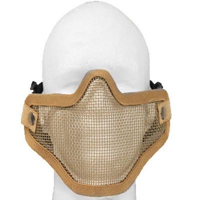 Krousis Carbon Steel Half Mask - Double DE