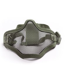 Carbon Steel Half Mask - Double OD