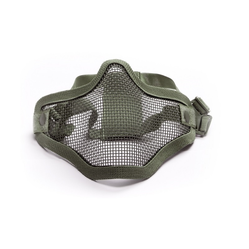 Krousis Carbon Steel Half Mask - Double OD