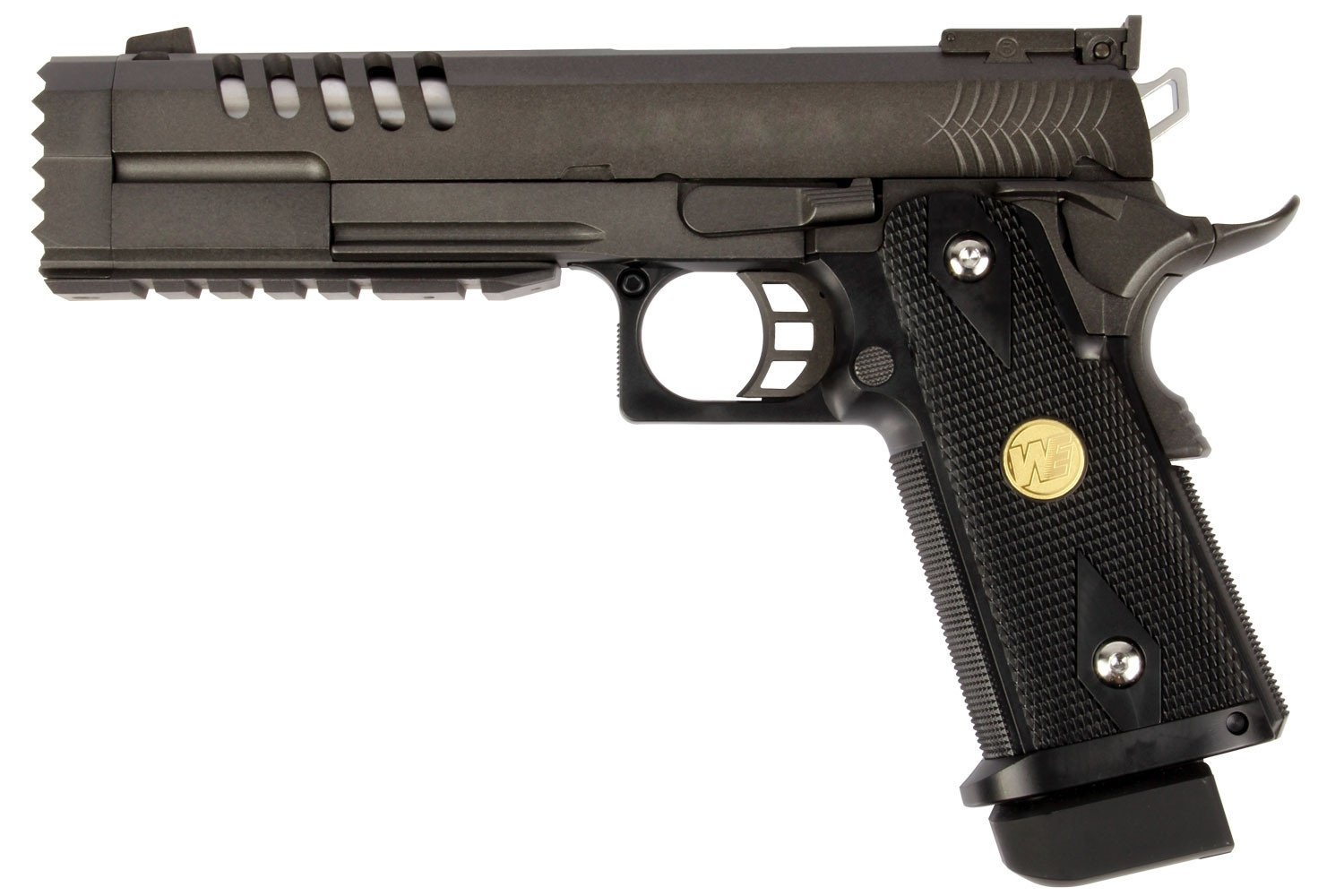 WE Tech Hi-Capa 5.2 Type K w/ extended barrel