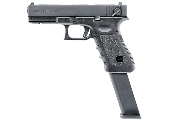 Umarex Licenced Glock 18 Gen 3 GBB Fully Automatic w/ Extended Barrel