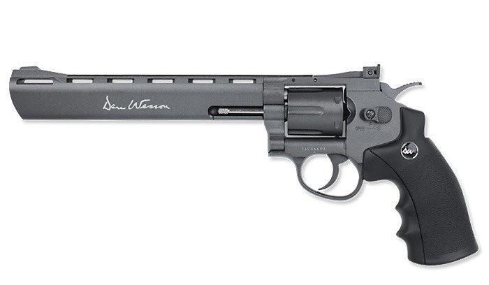 """ASG Dan Wesson 8"""" Revolver Black"""
