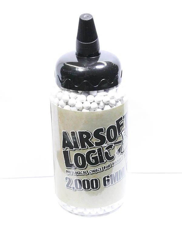 Airsoft Logic 0.40g Bio BB 2000 Round Bottle