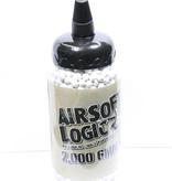 Airsoft Logic 0.30g Bio BB 2000 Round Bottle