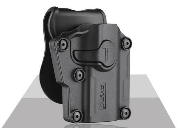 CYTAC Universal Holster w/Paddle (Adjust to Fit Model)