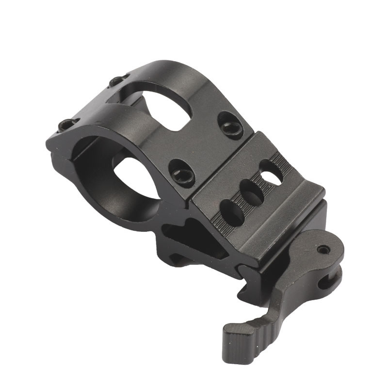 """1"""" Heavy Duty Offset Quick Release Picatinny Mount"""