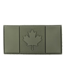 PVC Patch - Canada Flag Subdued Green