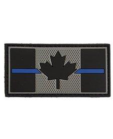 PVC Patch - Canadian Thin Blue Line 1x2