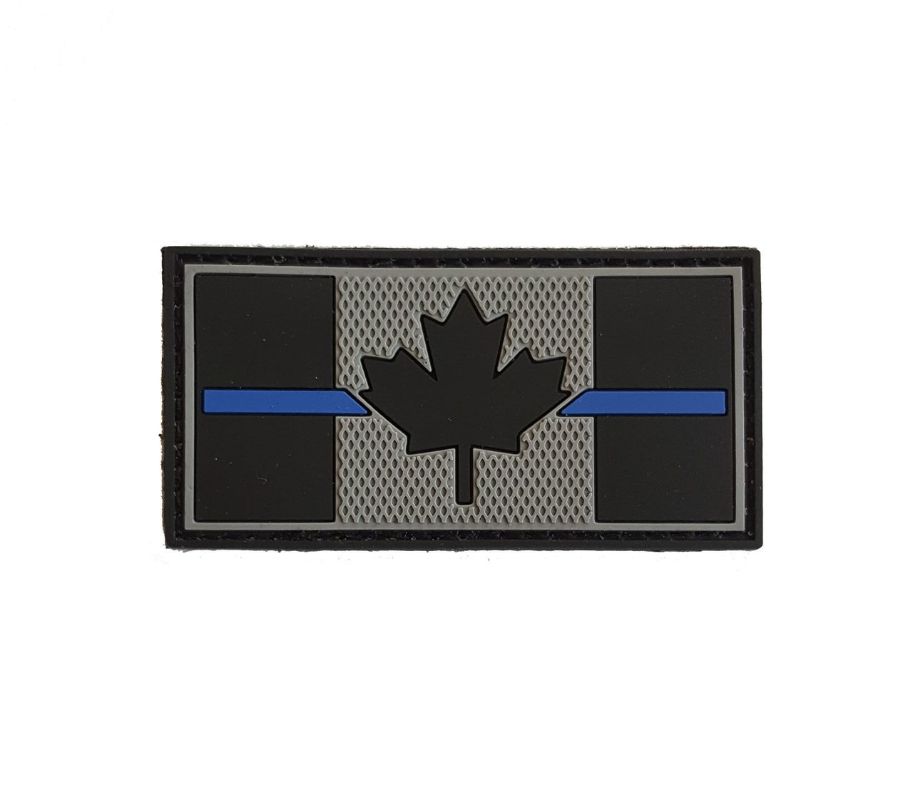 Tactical Innovations Canada PVC Patch - Canadian Thin Blue Line 1x2