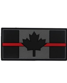 PVC Patch - Canadian Thin Red Line 1.5x3