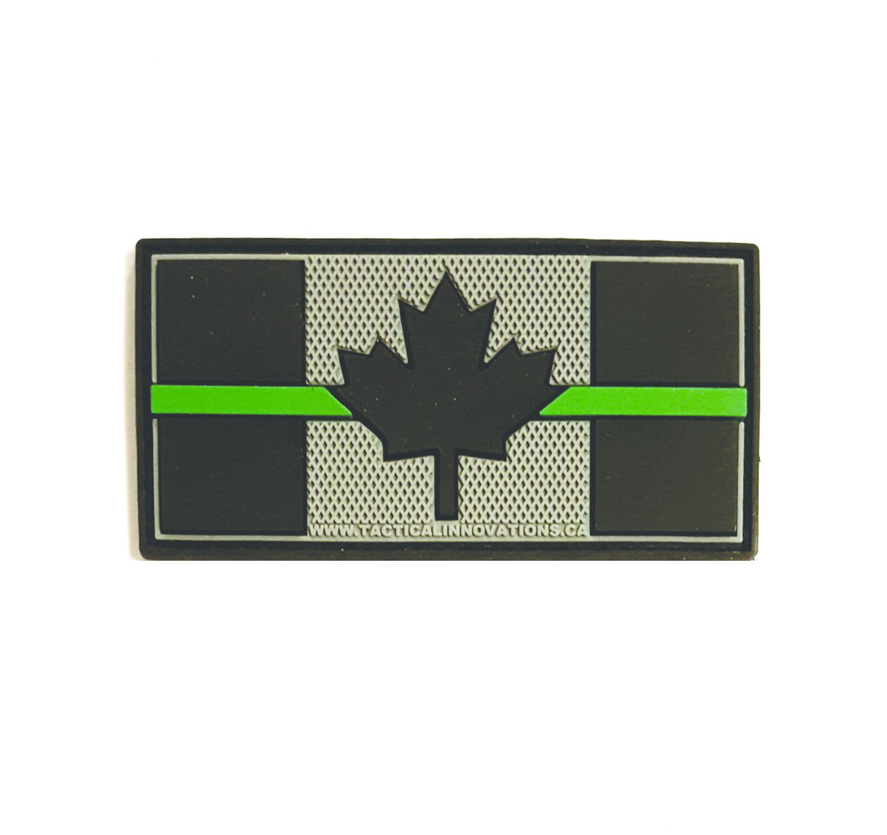 Tactical Innovations Canada PVC Patch - Canadian Thin Green Line 1.5x3