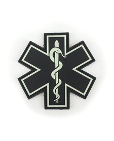 PVC Patch - EMS Emblem - Single Snake - Glow