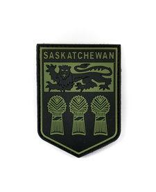 PVC Patch - Saskatchewan - Black/OD