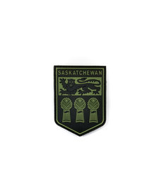 PVC Patch - Saskatchewan - Black/OD