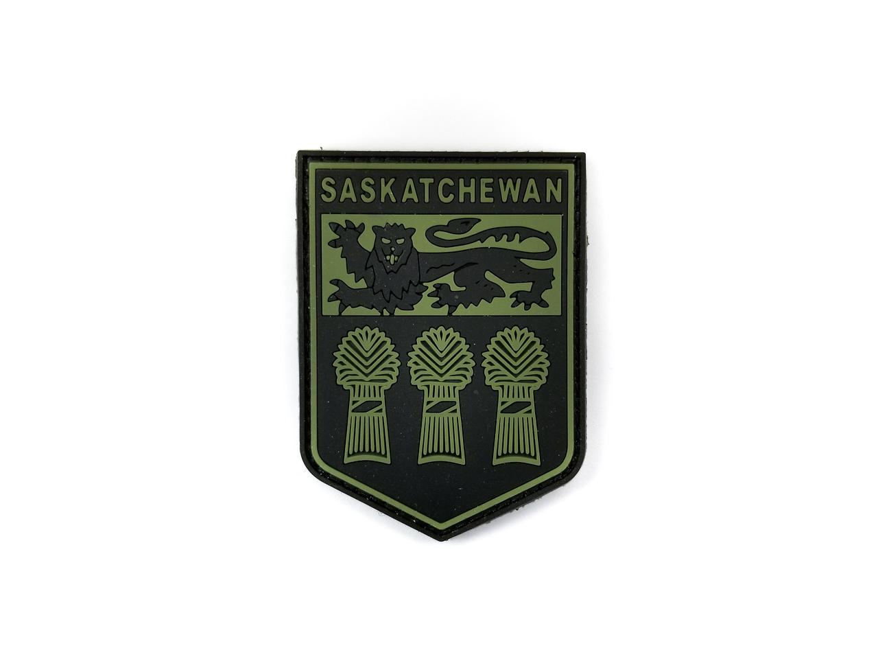 Tactical Innovations Canada PVC Patch - Saskatchewan - Black/OD