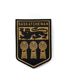 PVC  Saskatchewan - Black/Tan Patch