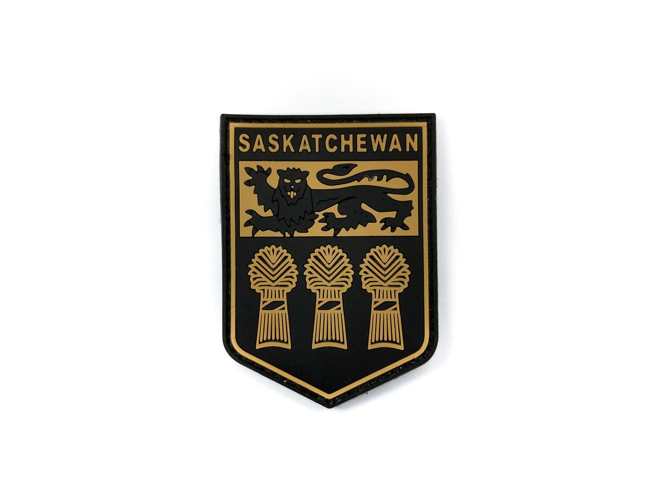 Tactical Innovations Canada PVC Patch - Saskatchewan - Black/Tan