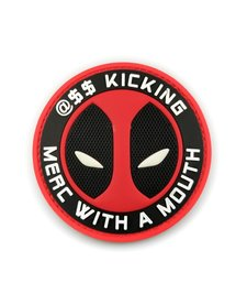 PVC Patch - Dead Pool - Merc with a Mouth