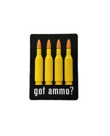 PVC Patch - Got Ammo 223cal
