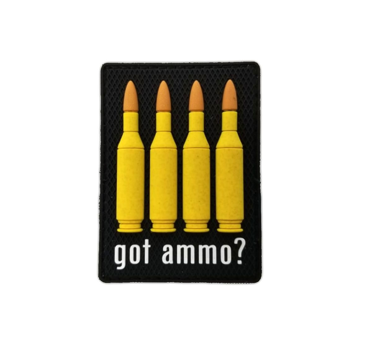 Tactical Innovations Canada PVC Patch - Got Ammo 223cal