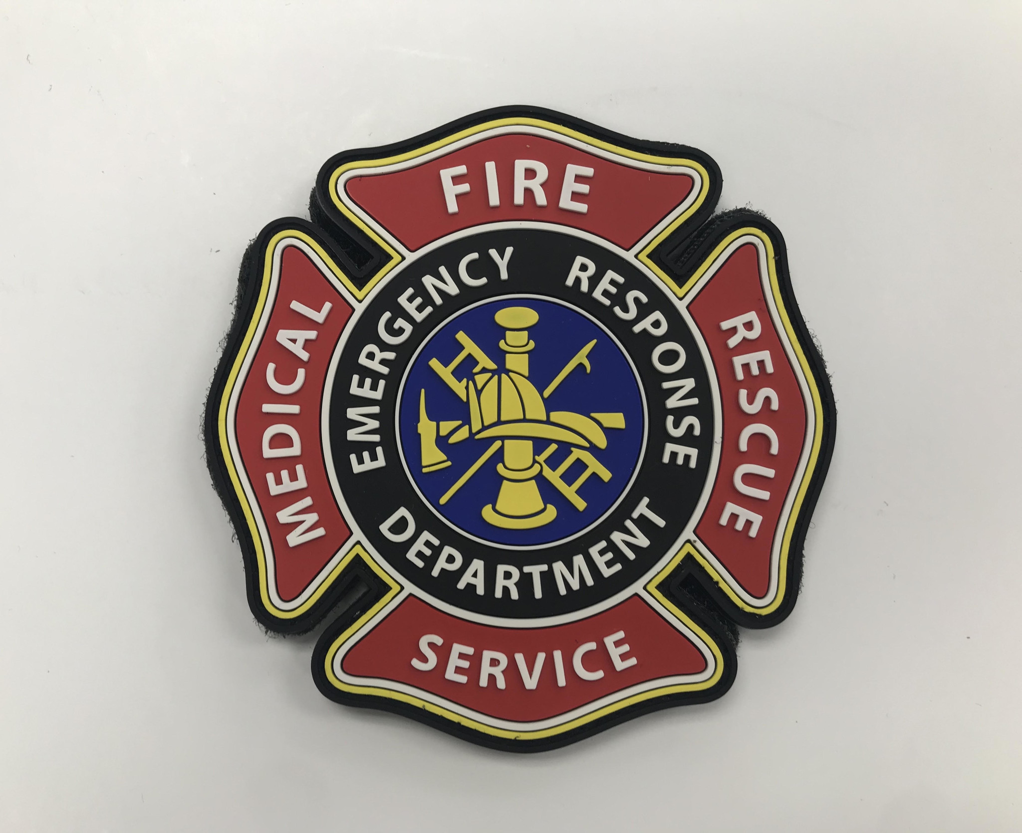 Tactical Innovations Canada PVC Patch - Fire Medical  Rescue Services Emblem