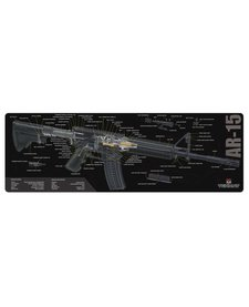 Firearms Cleaning Mat AR-15 Diagram (12x36)