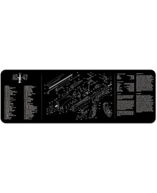 Firearms Cleaning Mat AK47 Diagram (12x36)