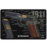 TekMat Firearms Cleaning Mat 1911 Diagram (11x17)